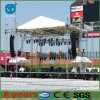 Aluminum esterno Mobile Stage Truss con PA Wings System