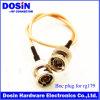 Double connecteur de prise masculine de BNC pour Rg179/Rg174/Rg316/Rg58/Rg59