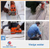 Hot Sale High Frequency HDPE Folha de tecido Hot Wedge Welder