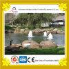 Petites fontaines décoratives extérieures de Bulbbling dans l'étang de stationnement