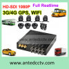 1080P 8 sistemi mobili della Manica DVR con il GPS Traking per sorveglianza del video del bus del veicolo
