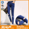 Hohe Taillen-dünne Ausdehnungs-Dame Long Jean Pant Costume