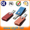 USB promocional Flash Diver Gift (P-007) del USB Pendrive New Product 2GB Leather de Gift