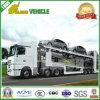 De Lading van twee Vloeren 10 Eenheden Aanhangwagen van de Auto-carrier van de Semi