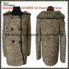 Ново приезжает шток свитера втулки шеи способа женщин круглым длинним связанный кардиганом (2215#)