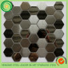 Toilet Wall Decorationのための価格List Offer 304 Hairline Stainless Steel Mosaic Tiles
