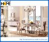 Tabella pranzante rotonda della mobilia domestica moderna con marmo (HC2305)