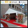 Banquete ao ar livre do partido do espaço livre do evento da manufatura que anuncia a barraca do casamento