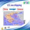 La logística mantiene de China a Pireo Grecia