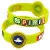 Form-Abzeichen Debossed Silikon-Armband für förderndes Geschenk