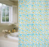 Новое Flower Curtain 100%Poly Waterproof Shower Curtain (JY-520)
