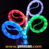 Nouveau Design DEL Glowing USB Data Charging Cable pour l'iPhone 5