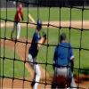 그물 접히는 야구 사례 그물을 명중하는 휴대용 소프트볼