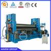 máquina de rolamento hidráulica W11S-12X4000 da placa de três rolos