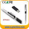 펜 모양 금속 USB 펜, OEM USB 지팡이 펜 작풍