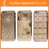 Crystal luxuoso Diamond Transparent Back Argumento Cover para o iPhone de Apple