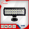 Diodo emissor de luz 54W Drving Light Bar de Epistar 9