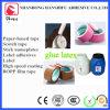 Látex del blanco del pegamento piezosensible del ácido de acrílico