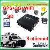 New Arrival China Bus 8 Channel SD Card Mdvr with 3G Geo Fence and PTZ 360 Camera
