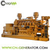 Genset 부속을%s 가진 고능률 나무 토막 생물 자원 600kw 가스 발전기