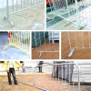 강철 Crowd Control Barrier 또는 Security Perimeter Barrier
