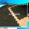 Free Install Commercial Rubber Flooring Tile