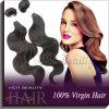 모발 제품 브라질 머리 씨실 100%년 Nutural 머리 (BVBW001)