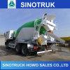 Concreto que mistura o caminhão do misturador concreto de 10 veículos com rodas