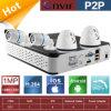 HD padrão 720p 4 Channel Fazer-ele-Yourself PNP NVR Kits
