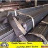 Ltz nero Steel Tube per Window Profiles