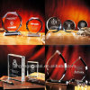 Laser Engraving Crystal Trophy Award (JD-XK-071) della Cina Supply New Design Hot 3D