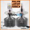 Farol H4 do carro do diodo emissor de luz do farol H4 H13 do diodo emissor de luz da Philips