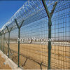 Airport Fence/Prison Fence/항구 Fencing를 위한 높은 Security Y Post Razor Type Wire Mesh Fence
