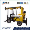 Water hydraulique Well Drilling Rig avec 75-500mm Hole Drill Bit Xy-600f