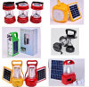Solar multifunzionale Camping Lantern con il USB Charger, Radio, Lighting