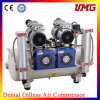 compressor de ar dental de Oilless do poder 2*850W