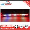 Volante della polizia che avverte la barra chiara del camion Emergency del LED