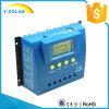 plein régulateur solaire G80 d'exécution manuelle d'étalage de 80A 24V/12V PWM