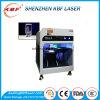 la máquina verde 3D del laser 5W interna graba la fábrica de cristal del grabado
