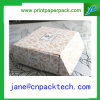 Rectángulo de regalo de empaquetado de papel plegable del almacenaje del rectángulo de papel de la impresión en color