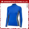 OEMは紫外線女性の長い袖青いRashguardsを整備する(ELTRGI-41)