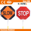 Panneau d'aluminium Slow Stop Safety Road Traffic Sign