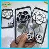 Caisse de téléphone de silicones de fleur de camélia pour Huawei Mate8