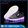 Hete het Laden van Flyknit USB van de Schoenen van Yeezy van de Stijl Lace-up Opvlammende LEIDENE van Jonge geitjes Schoenen