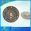習慣によって浮彫りにされるロゴのフォーラムの記念品の金属の記念する硬貨かバッジ(XF-CO17)