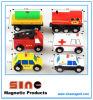 教育おもちゃのための木磁気都市交通のブロック