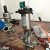 Ss304 Pneumatische 63.5mm krijgt de mengeling-Bewijs Klep voor CIP terug