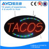 Segno ovale del Tacos LED di energia di risparmio di Hidly
