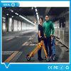 Grüne Umweltschutz-Straße, die elektrisches Roller-Fahrrad 36V 350W faltet