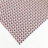 Tessuto scozzese stampato nero bianco rosso del cotone di fabbricazione per i vestiti